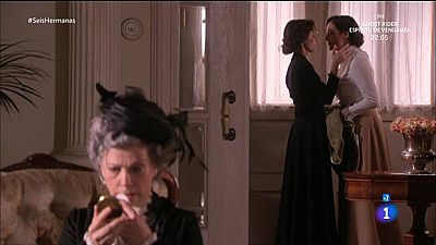 Seis Hermanas - Dolores ve a Celia y Aurora besarse a trav�s del espejo