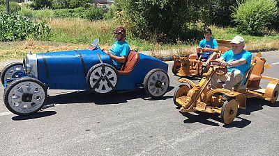 Esteiro se prepara para el Gran Premio de Carrilanas