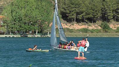 La furgo de verano: Laguna del Rey