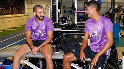 Los jugadores del Real Madrid se han reincorporado al trabajo después de las vacaciones y han pasado el reconocimiento médico previo al inicio de la gira norteamericana.