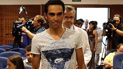 El ciclista español Alberto Contador ha vuelto a la actividad tras su retirada del Tour de Francia con el objetivo de ponerse a punto para participar en la Vuelta a España.
