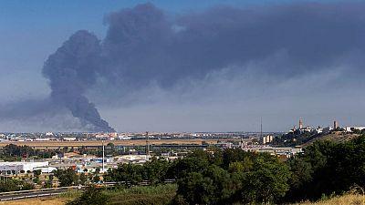 El fuego devasta la principal fábrica del Grupo Ybarra en España