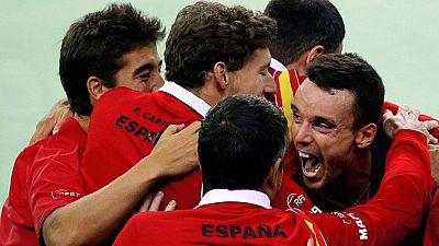 Roberto Bautista logró el punto definitivo en la eliminatoria contra Rumania en la Davis y luchará por subir al Grupo Mundial en septiembre.