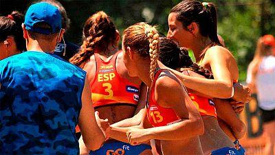 Las 'Guerreras de la arena' han derrotado a Brasil en la final del mundial de balonmano playa y se han colgado el oro.