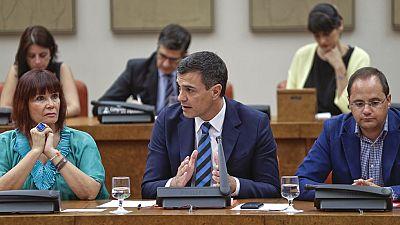 "Sánchez insta a Rajoy a buscar apoyos para ""un gobierno conservador no continuista"""