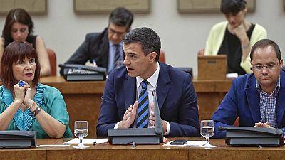 Pedro Sánchez reitera su negativa a facilitar la investidura de Rajoy