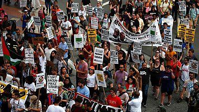 Protestas en Cleveland, sede de la Convención Republicana, contra los abusos policiales