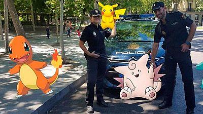 El juego para móviles Pokemon Go recién llegado a España ya tiene a muchos enganchados