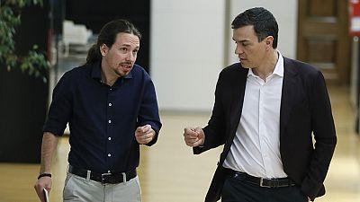 El PSOE ha rechazado el ofrecimiento de Podemos de que la Presidencia del Congreso recaiga en el candidato progresista que más apoyos logre en la primera votación y ha garantizado que solo respaldará a Patxi López para que sea reelegido, han informad