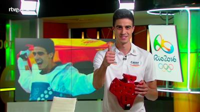 """Joel González """"Siente el espíritu olímpico"""""""
