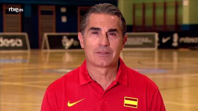 Sergio Scariolo- Siente el espíritu olímpico en RTVE