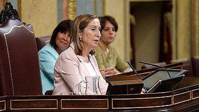 Discurso de Ana Pastor al constituirse el Congreso