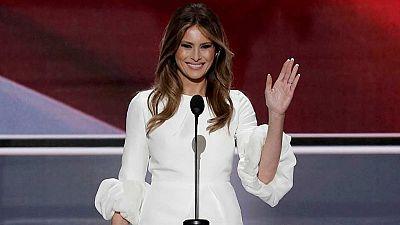 Melania Trump, acusada de plagiar un discurso de Michelle Obama durante la convención republicana