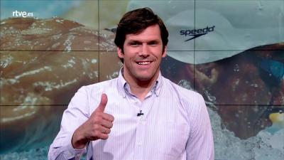 El nadador Javier Soriano te anima a vivir Río en RTVE