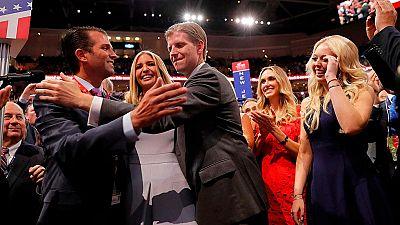 Donald Trump, elegido oficialmente candidato republicano a la Presidencia de EEUU