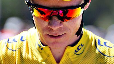 """El británico Chris Froome, que hoy afianzó su liderato en el Tour de Francia, aseguró que se siente mejor en la tercera semana de carrera que el año pasado. """"Nunca es fácil aunque lo parezca, pero creo que me siento mejor que el año pasado en la terc"""