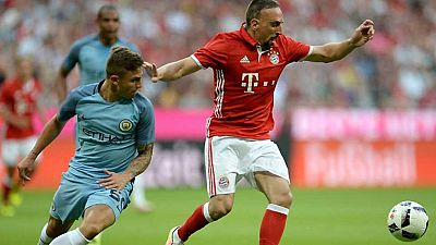 Fútbol - Amistoso Bayern Munich-Manchester City - ver ahora
