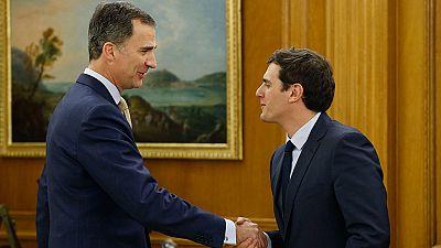 Rivera pedirá al rey que convenza a Sánchez de que se abstenga y a Rajoy de que negocie
