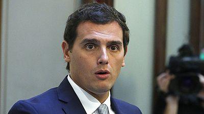 Albert Rivera insta al rey a que pida a Pedro Sánchez que se abstenga y facilite un gobierno