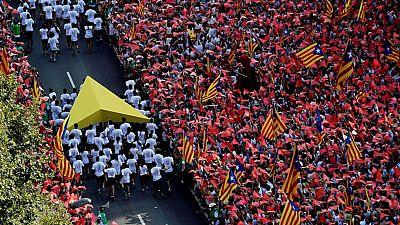Los partidarios de la independencia superan en cinco puntos a los detractores, seg�n el CIS catal�n