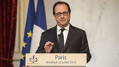 Hollande anuncia nuevas medidas militares contra el Estado Islámico en Irak tras el atentado de Niza