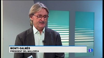 Entrevista al president del Mallorca Monti Galmès
