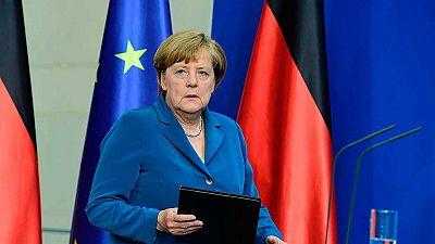 """Merkel garantiza que el Estado protegerá """"la seguridad y la libertad"""""""