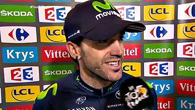 """El espa�ol Ion Izaguirre asegur� que su victoria de hoy en el Tour de Francia, conseguida en los Alpes en la pen�ltima etapa, es """"algo so�ado"""". """"Una victoria en el Tour y en los Alpes es algo so�ado"""", dijo el ciclista del Movistar tras cruzar la meta"""