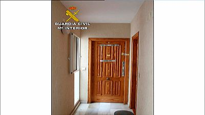 La Guardia Civil libera a un hombre que ha estado secuestrado en su casa dos semanas