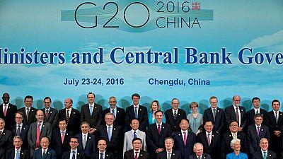 El 'Brexit' añade más incertidumbre a la economía global, débil y en recuperación, según el G20