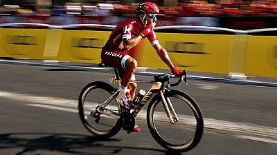 """El español Joaquín """"Purito"""" Rodríguez, que acabó hoy por última vez el Tour de Francia, puesto que dejará la bicicleta al final de la temporada, aseguró que lo ha disfrutado de forma especial y descartó ir a la Vuelta a España."""