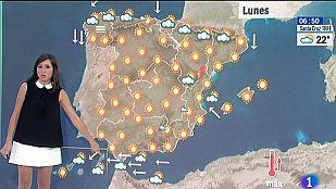 Las temperaturas siguen subiendo en casi todo el país