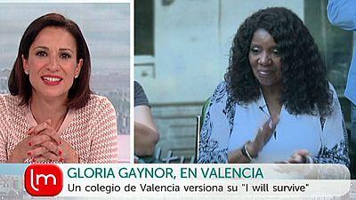 La ma�ana - Gloria Gaynor, en Valencia
