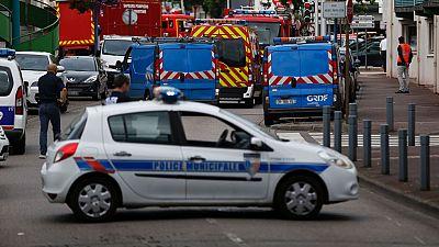 Un sacerdote, muerto en la toma de rehenes en una iglesia de Normandía