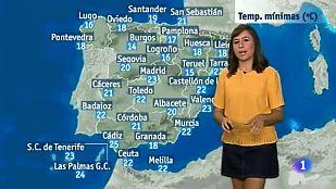 El Tiempo en Extremadura - 26/07/2016