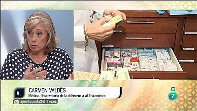 A punto con La 2 - Consumo - Entrevista a Carmen Vald�s sobre los tratamientos m�dicos