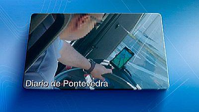 La Guardia Civil investiga si un conductor de autobús de Pontevedra estaba jugando al juego Pokémon Go mientras conducía
