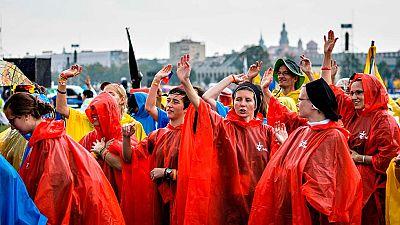 Arranca en Cracovia la segunda Jornada Mundial de la Juventud del pontificado de Francisco