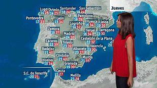 El tiempo en la Comunidad Valenciana - 27/07/16