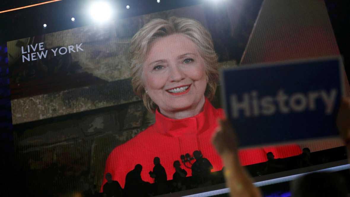 Hillary Clinton hace historia: será la primera mujer que aspire a llegar a la Casa Blanca