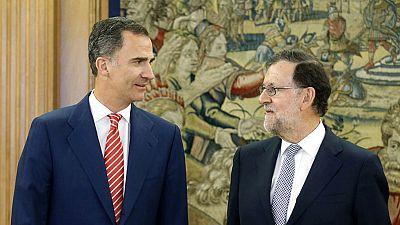 El rey propone a Rajoy como candidato a la investidura tras completar la ronda de consultas