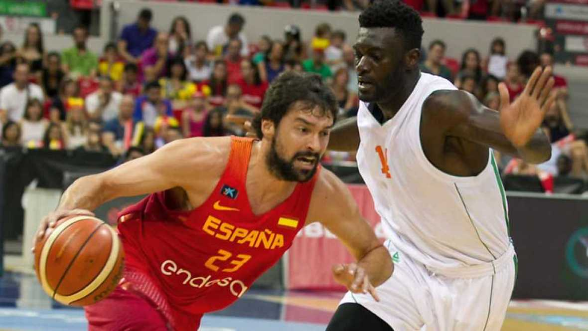 Baloncesto - Ruta Ñ masculina: España-Costa de Marfil - ver ahora