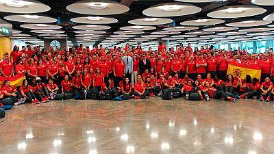 El Rey Felipe VI despide al equipo olímpico español