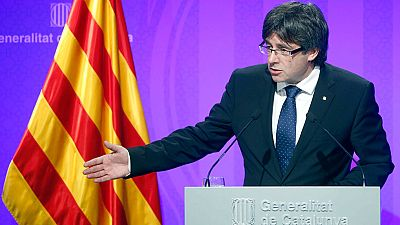 """La Generalitat de Cataluña advierte de que """"no se moverá"""" de su hoja de ruta soberanista"""