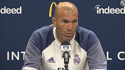 """Zidane est� """"encantado"""" con su plantilla"""