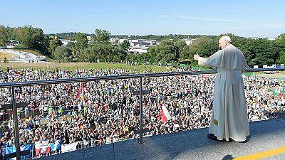 Francisco dedica su cuarto día en Polonia al pontificado de Juan Pablo II