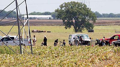 Un globo se estrella con al menos 16 personas en Texas
