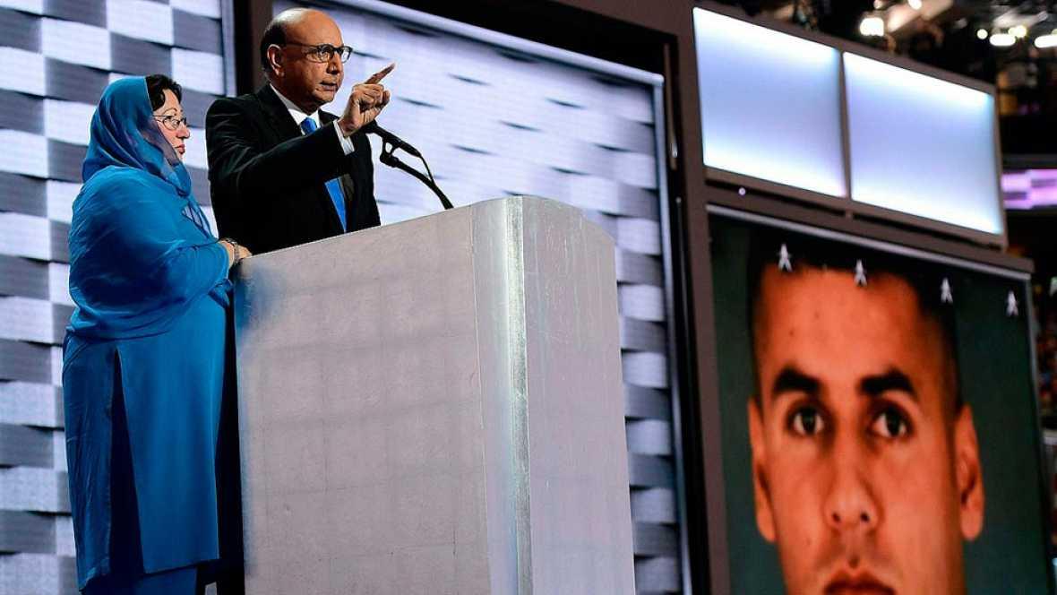 Trump ofende a los padres de un soldado musulm�n muerto en Irak y desata la pol�mica
