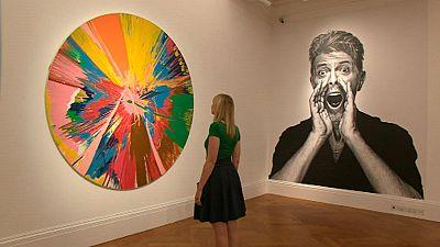 Los cuadros que influenciaron la música de Bowie, a subasta
