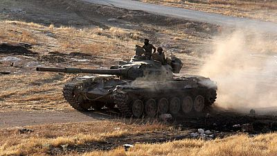 Contraofensiva rebelde contra el ejército de Bashar Al Assad en Alepo